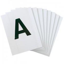 plaques lettre dressage