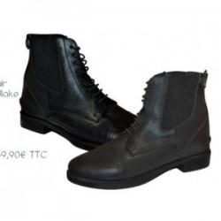 boots roma junior noir canter